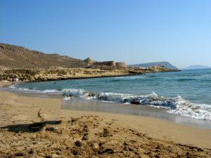 Cabo de Gata. El Playazo de Rodalquilar
