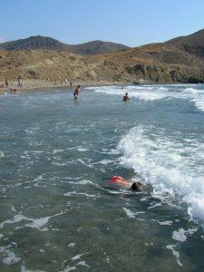 Cabo de Gata. Playa de la Isleta del Moro.