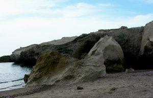 Cabo de Gata. Los Escullos. Playa del Arco.