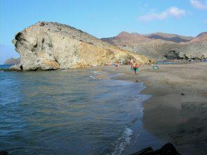 Cabo de Gata. Playa de Mónsul.