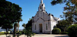 Isla de A Toxa. Capilla de las Conchas o de San Sebastián.