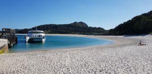 Islas Cíes. Embarcadero playa de Rodas