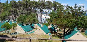 Islas Cíes. Camping