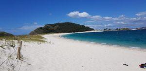 Islas Cíes. Playa de Rodas