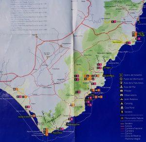 Plano Cabo de Gata