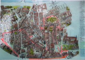 Plano de Pontevedra