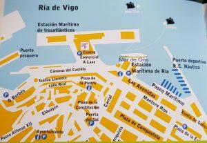 Plano de Vigo.