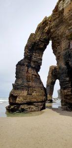 Playa de las Catedrales. Arbotantes.