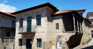 Pontevedra. Plaza A Leña. Museo provincial.