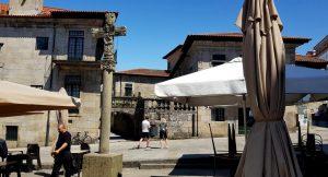 Pontevedra. Plaza A Leña.