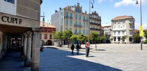 Pontevedra. Plaza Ferraría.