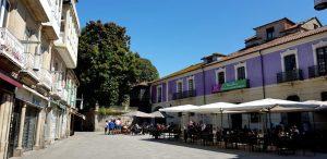 Pontevedra. Plaza Méndez Núñez.