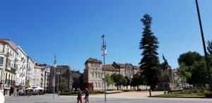Pontevedra. Plaza de España. Convento de Santo Domingo