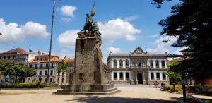 Pontevedra. Plaza de España.