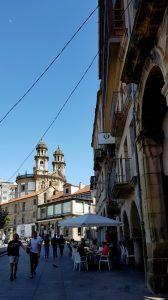 Pontevedra. Plaza Ferraría