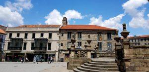 Pontevedra. Plaza de la Peregrina.