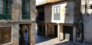 Pontevedra. Rua de los Soportales.