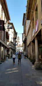 Pontevedra. Rúa de los Soportales.