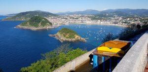 San Sebastián. Monte Igueldo. Río Misterioso.