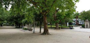 Santiago. Parque de la Alameda.