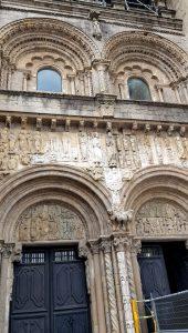 Santiago. Catedral. Portada de las Platerías.
