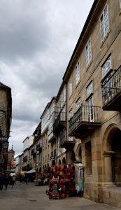 Santiago. Rúa Nova