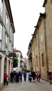 Santiago. Rúa do Franco.