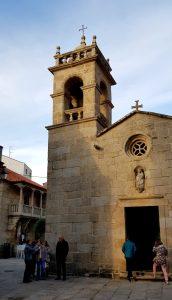 Sanxenxo. Iglesia de San Xines