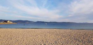 Sanxenxo. Playa de Silgar