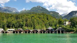 Berchtesgaden. Lago Konigsee