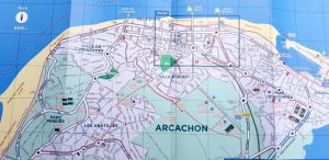 Plano de Arcachon