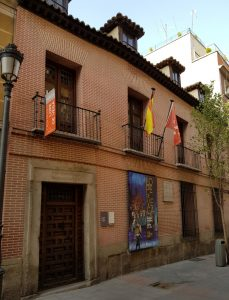 Madrid. Barrio de las Letras. Casa Museo de Lope de Vega.
