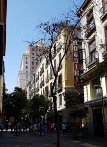 Madrid. Calle Fuencarral.