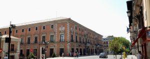 Madrid. Calle Mayor. Palacio de los Consejos.