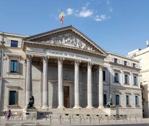 Madrid. Palacio de las Cortes