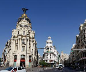 Madrid. Gran Vía.