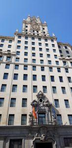 Madrid. Gran Vía. Edificio Telefónica.