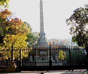 Madrid. Plaza de la Lealtad. Monumento a los Caidos por España