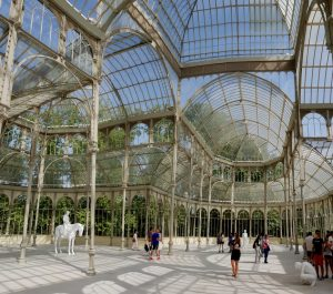Madrid. Parque del Retiro. Palacio de Cristal.