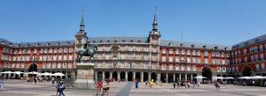 Madrid. Plaza Mayor. Casa de la Panadería.