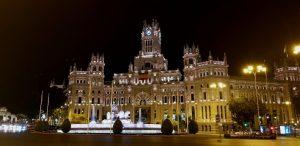 Madrid. Plaza de la Cibeles