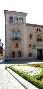 Madrid. Plaza de la Villa. Casa de Cisneros