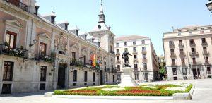 Madrid. Plaza de la Villa. Ayuntamiento antiguo