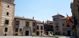 Madrid. Plaza de la Villa. Casa Torre de los Lujanes