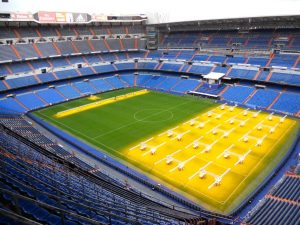 Madrid. Tour del Real Madrid. Santiago Bernabeu