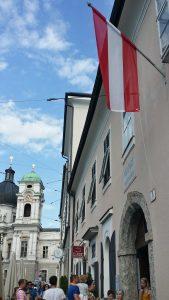 Salzburgo. Casa de Mozart