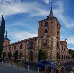 Alcalá de Henares. Colegio de Málaga.