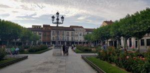 Alcalá de Henares. Plaza de Cervantes.