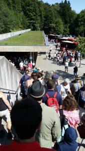 Berchtesgaden. Estación de los autobuses
