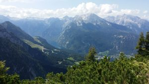 Berchtesgaden.Lago Konigsee desde el Nido del Águila